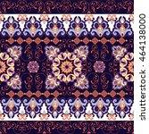 striped seamless pattern.... | Shutterstock .eps vector #464138000