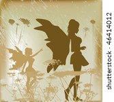 fairy background | Shutterstock .eps vector #46414012