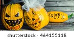 wedding happy halloween | Shutterstock . vector #464155118