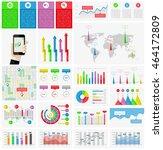 ui  elements of infographics...   Shutterstock .eps vector #464172809