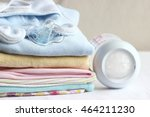 baby clothes for newborn. in... | Shutterstock . vector #464211230