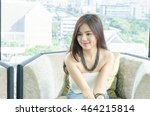 Business Woman Smiling With...