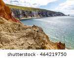 isle of wight in summer ... | Shutterstock . vector #464219750