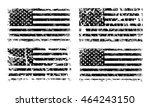 Usa American Grunge Flag Set ...