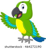 cartoon macaw | Shutterstock .eps vector #464272190