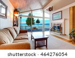 awesome living room interior... | Shutterstock . vector #464276054