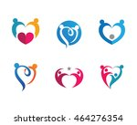 love community care logo | Shutterstock .eps vector #464276354