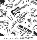music instrument doodle...