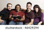 group of diverse friends... | Shutterstock . vector #46429294