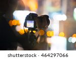 camera and shooting time  | Shutterstock . vector #464297066