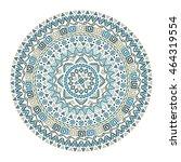 Vector Mandala  Round Pattern...