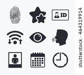 Identity Id Card Badge Icons....