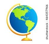earth globe | Shutterstock .eps vector #464357966