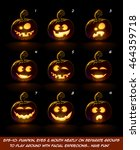 vector icons of a lighten jack... | Shutterstock .eps vector #464359718