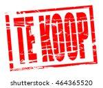 rode stempel effect   te koop ... | Shutterstock . vector #464365520