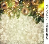 closeup of christmas tree | Shutterstock . vector #464400716