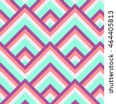 square seamless pattern of pink ... | Shutterstock .eps vector #464405813