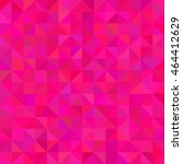Background Of Hot Pink Triangles