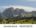 cortina d'ampezzo  the... | Shutterstock . vector #464416010