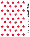 red stars on the white... | Shutterstock .eps vector #464422784