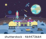 vector illustration of a... | Shutterstock .eps vector #464473664