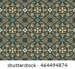 antique seamless background... | Shutterstock .eps vector #464494874