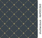 fleur de lis royal  luxury...   Shutterstock .eps vector #464501363