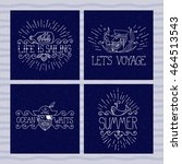 Set Of Nautical Banners. Pirate ...