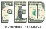 fed   federal reserve system.... | Shutterstock . vector #464526926