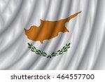 cyprus flag vector illustration. | Shutterstock .eps vector #464557700