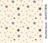 cute seamless pattern. baby...   Shutterstock .eps vector #464557898