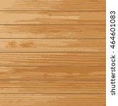realistic wooden vector... | Shutterstock .eps vector #464601083