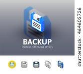 backup color icon  vector...