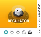 regulator color icon  vector...