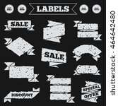 stickers  tags and banners with ...   Shutterstock .eps vector #464642480