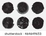grunge shapes circle frames... | Shutterstock .eps vector #464649653
