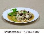 fried mushrooms mixed   ... | Shutterstock . vector #464684189
