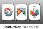 template design layout ... | Shutterstock .eps vector #464748449