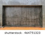 concret wall background | Shutterstock . vector #464751323