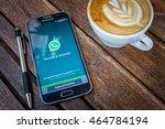 chiang mai thailand   aug 7 ... | Shutterstock . vector #464784194