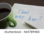 that was her | Shutterstock . vector #464789483