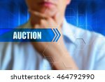 """auction"" concept image. a man... 
