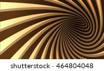 3d vector striped spiral... | Shutterstock .eps vector #464804048