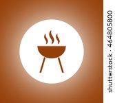 barbecue icon. vector concept...