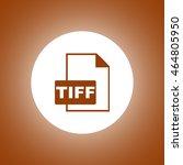 tiff icon. vector concept...
