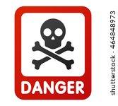 Attention Icons Danger Skull...