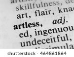Small photo of Artless