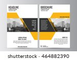 abstract flyer design... | Shutterstock .eps vector #464882390