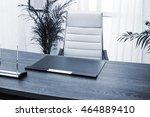 modern desk manager in a modern ...   Shutterstock . vector #464889410