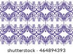 hungarian folk art | Shutterstock .eps vector #464894393